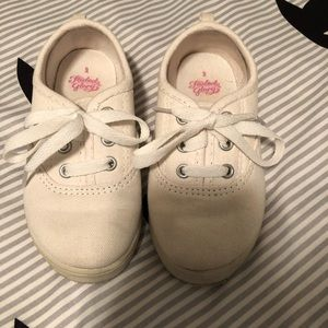 Other - Girls white sneakers size 9 toddler